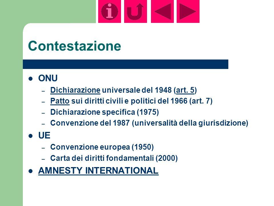 Contestazione ONU – Dichiarazione universale del 1948 (art.