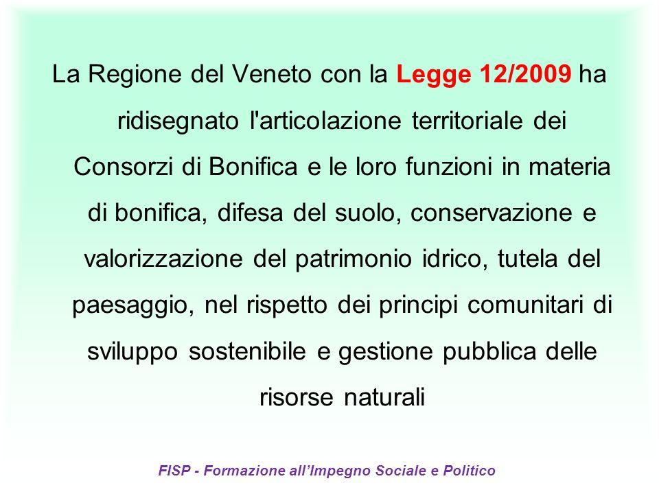 I Consorzi di Bonifica sono enti necessari o necessitati.