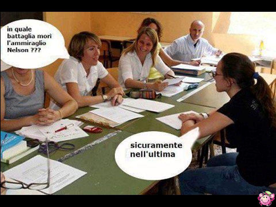Durante la prova orale di un esame per carabinieri viene chiesto al candidato: