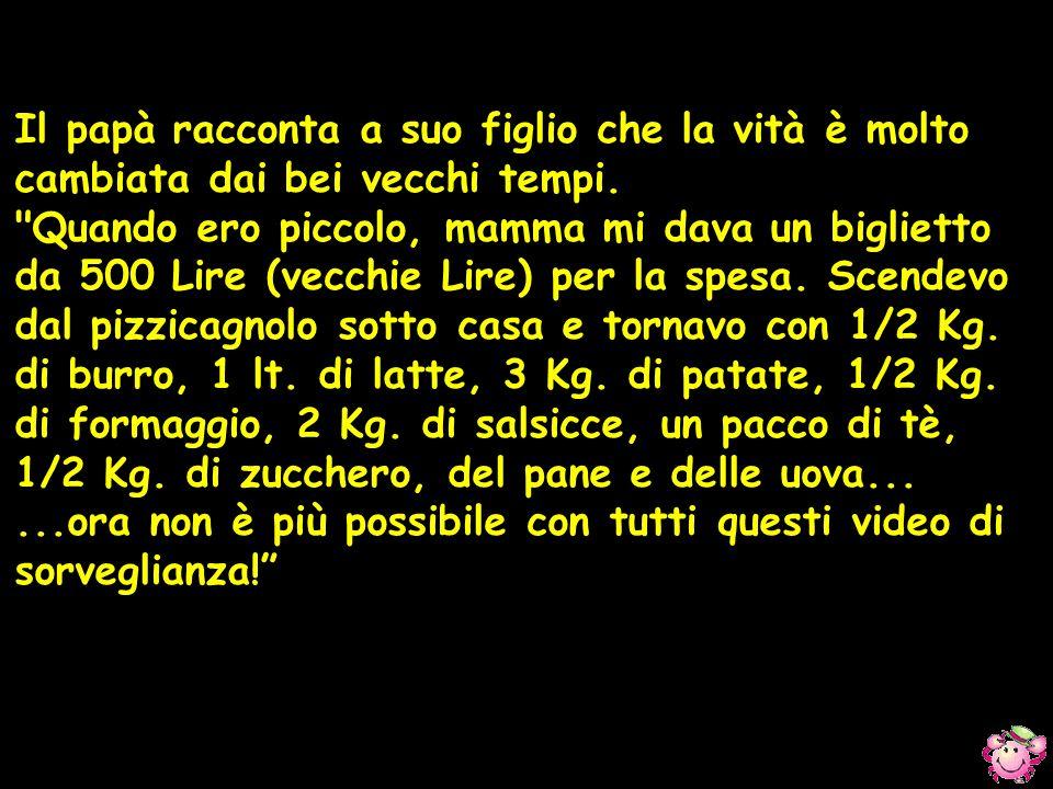 Durante la prova orale di un esame per carabinieri viene chiesto al candidato: Qual e quella cosa con la suola ed il tacco che si mette ai piedi? .