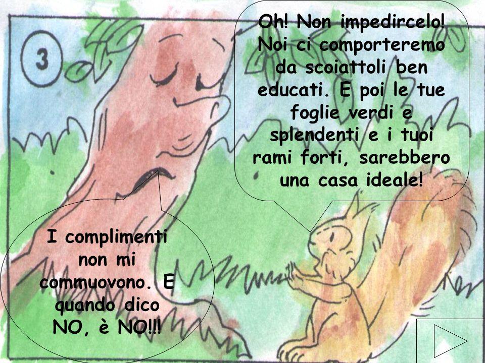 elaborazione elettronica di Gabriele Magistrelli ©settembre 2001 10 Penso proprio di no! –Rispose lalbero- Io non voglio essere disturbato da nessuno!