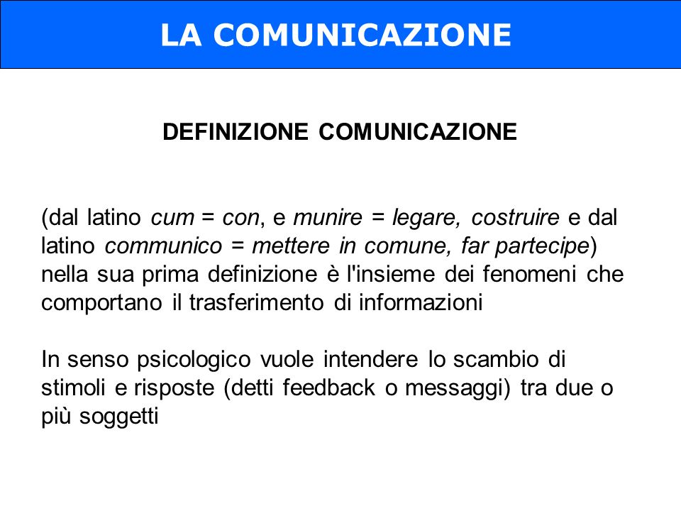 Generalmente si distinguono diversi elementi che concorrono a realizzare un singolo atto comunicativo.