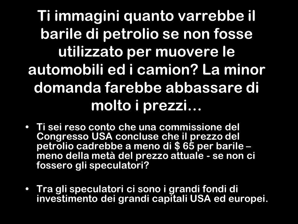 Per colpa della medesima mafia bancaria e petroliera che controlla il pianeta!