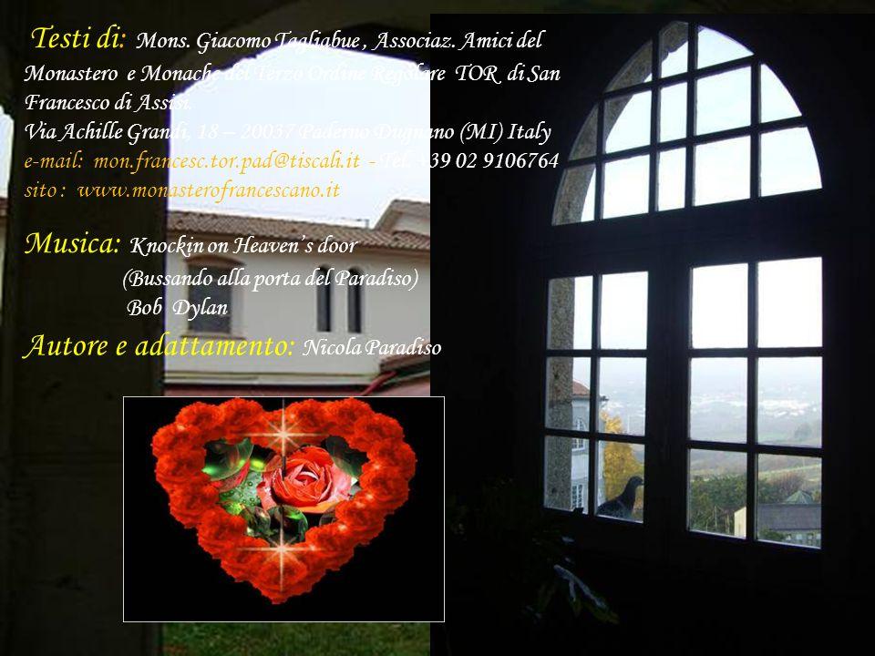 OFFERTE: 10 ---> ordinario 15 ---> simpatizzante 20 ---> sostenitore - ad libitum benemerito - MONASTERO MONACHE FRANCESCANE TOR – Via A.