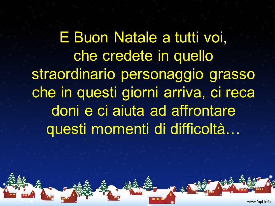 Buon Natale ai giovani del sabato sera perché si ricordino che quando si è in ballo… … non bisogna necessariamente sballare!