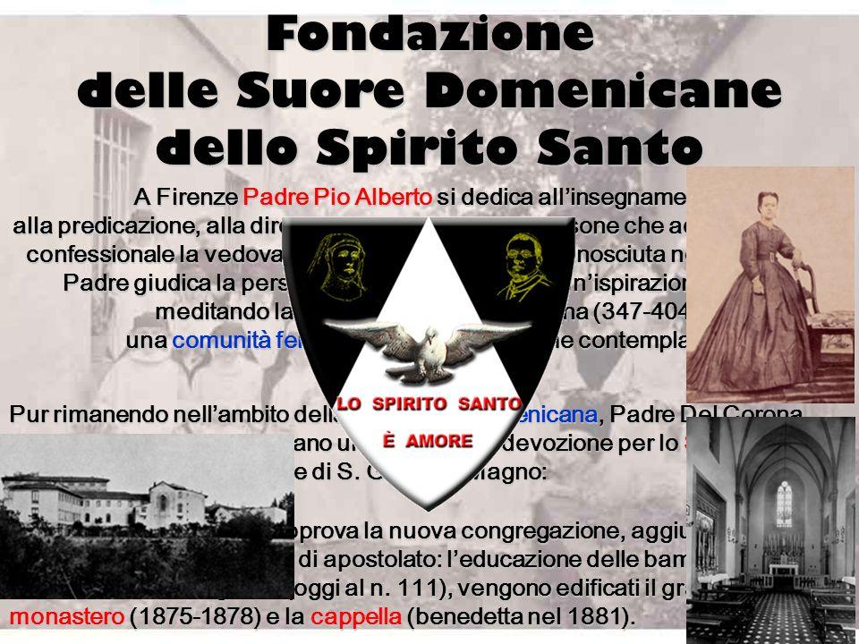 A Firenze Padre Pio Alberto Alberto si dedica allinsegnamento, alla predicazione, alla direzione spirituale. Tra le persone che accorrono al suo confe