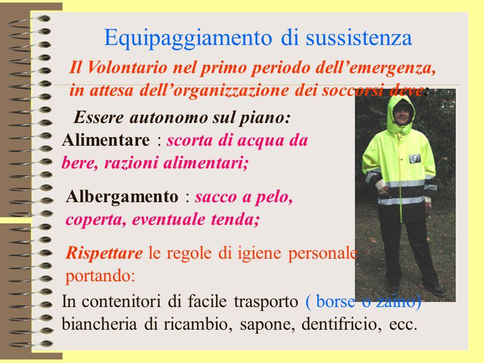 Vestiario Adattabilità alle condizioni ambientali : caldo, freddo, pioggia, umidità; Protezione dallazione di elementi ostili : caduta oggetti, folgor
