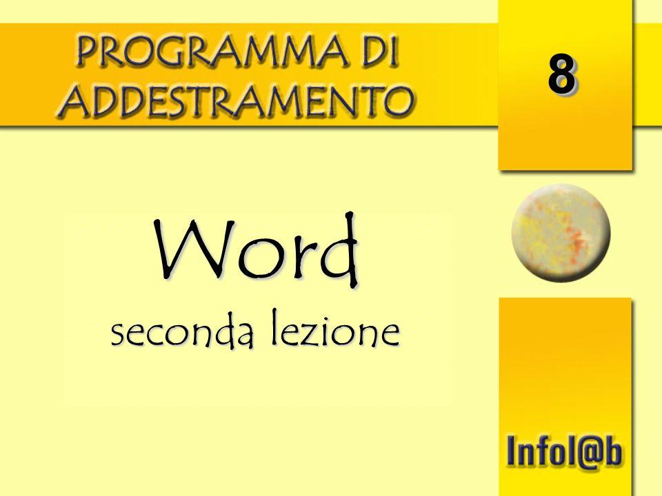 88 Word seconda lezione