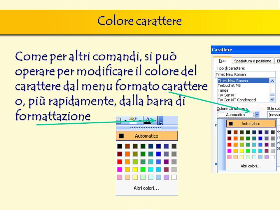 Colore carattere finestra di dialogo Nuovo, nella quale si può scegliere sia il documento vuoto, sia un altro documento tipo, da scegliere tra i model