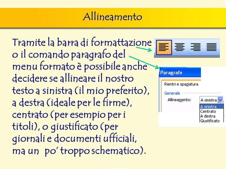 Allineamento finestra di dialogo Nuovo, nella quale si può scegliere sia il documento vuoto, sia un altro documento tipo, da scegliere tra i modelli f