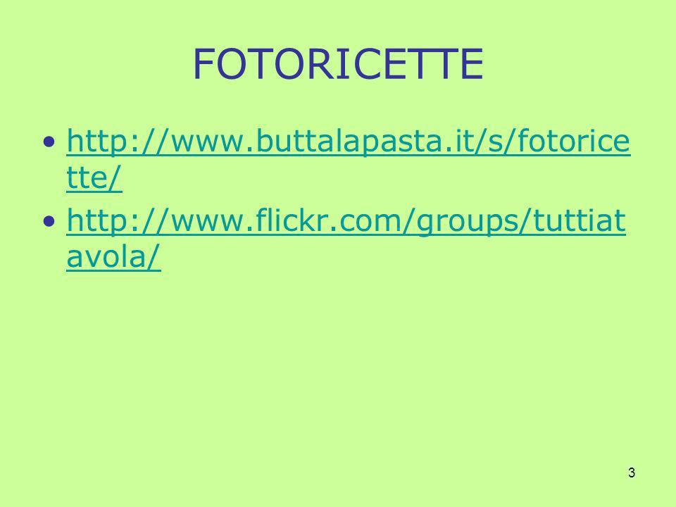 4 ALTRI RICETTARI:I DIARI DI CUCINA Il cavoletto di Bruxelles –http://www.cavolettodibruxelles.it/http://www.cavolettodibruxelles.it/ La cucina di Adina –http://lacucinadiadina.blogspot.com/http://lacucinadiadina.blogspot.com/ La cuoca petulante –http://lacuocapetulante.blogspot.com/http://lacuocapetulante.blogspot.com/ Cuoche dellaltro mondo –http://cuochedellaltromondo.blogspot.com/http://cuochedellaltromondo.blogspot.com/ Cuochi di carta –http://cuochidicarta.blogspot.com/http://cuochidicarta.blogspot.com/ Fior di zucca –http://fiordizucca.blogspot.com/http://fiordizucca.blogspot.com/ Per approfondimenti su questo argomento –http://www.wikio.it/blogs/top/gastronomiahttp://www.wikio.it/blogs/top/gastronomia