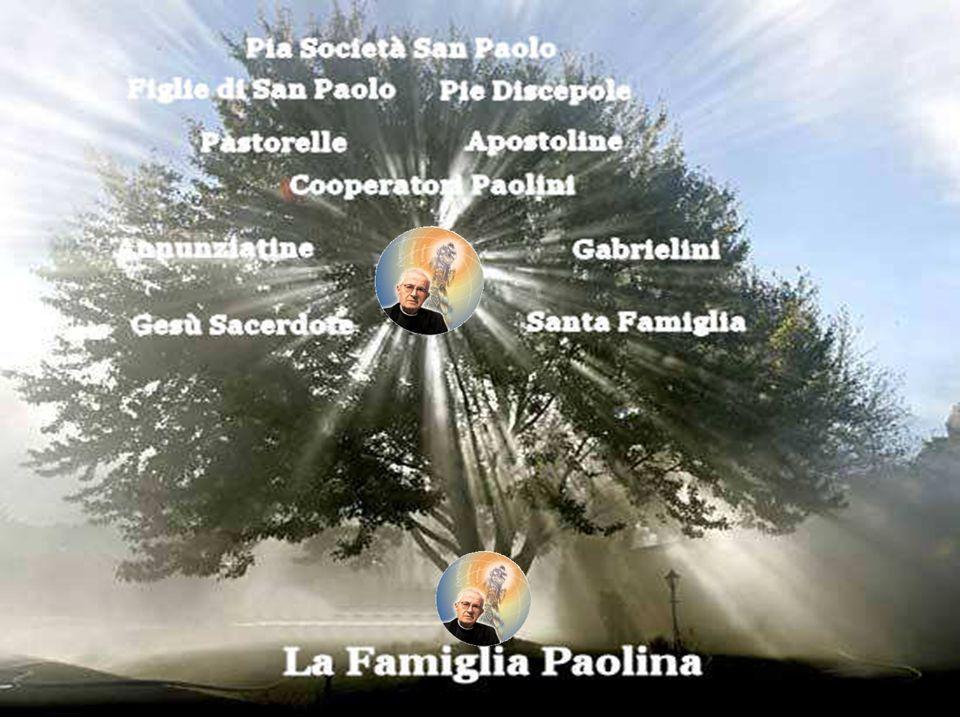 Tutti noi siamo una famiglia perché siamo nati da uno stesso padre, don Giacomo Alberione. La nostra origine è legata ad una esperienza di preghiera c
