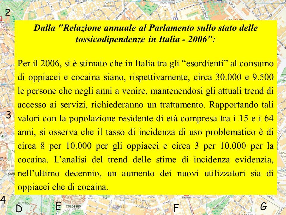 CASI DI AIDS DIAGNOSTICATI IN ITALIA