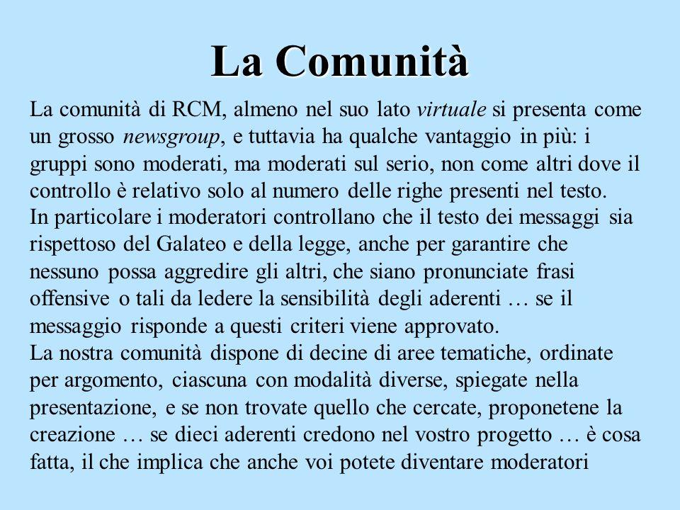 Un po di storia RCM, come vi dicevo prima, è lacronimo di Rete Civica di Milano, e nasce da un progetto del DSI addirittura nel 1995 … certo che ne abbiamo fatta di strada da allora eh !!.