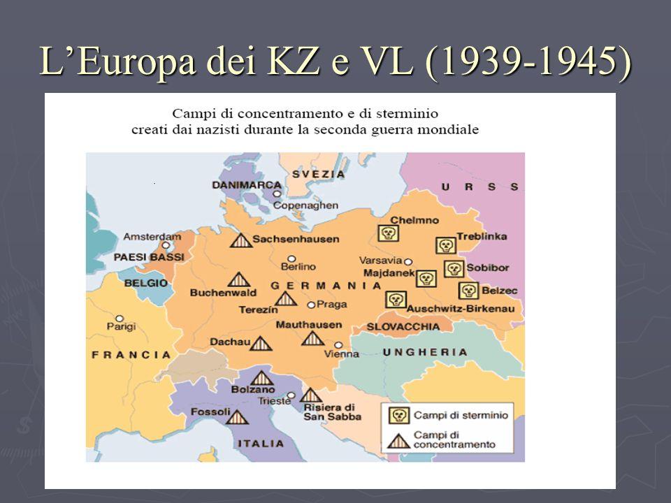 LEuropa dei KZ e VL (1939-1945)