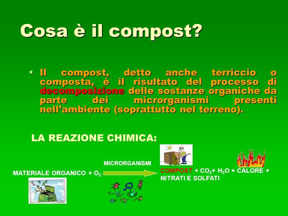 Cosa è il compost.