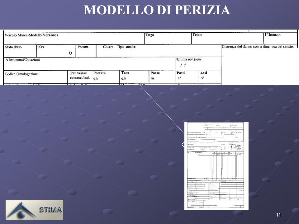 11 MODELLO DI PERIZIA ALFA ROMEO - 147 1.9 TURBODIESEL JTD CAT 3P.