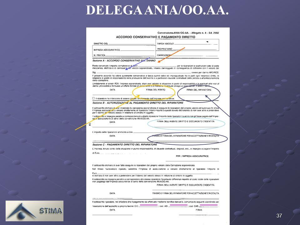 37 DELEGA ANIA/OO.AA.