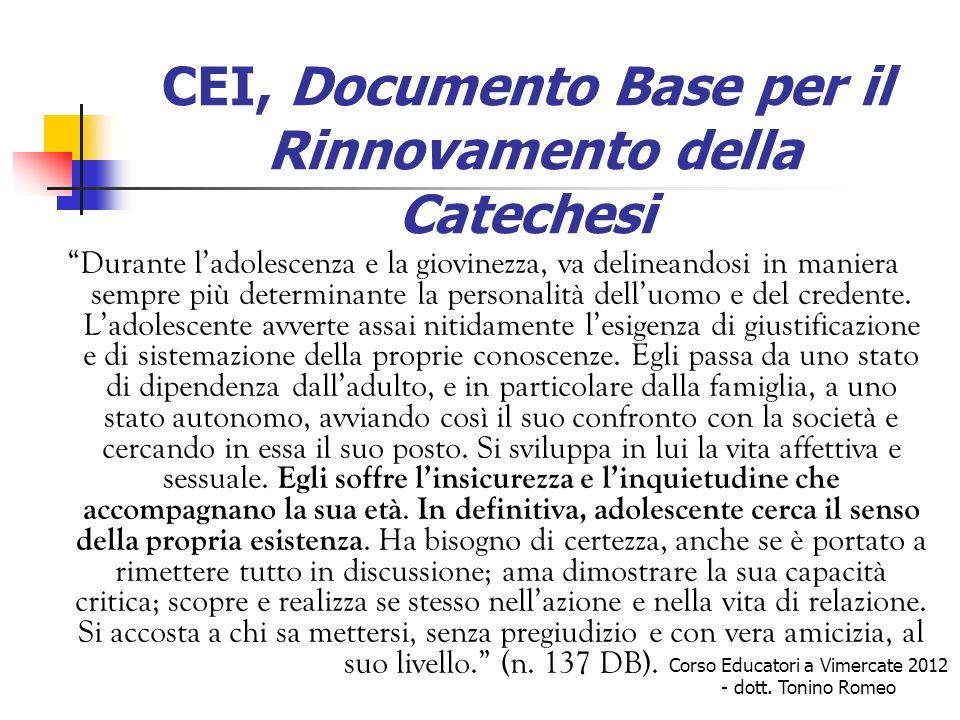 Dalla religiosità degli adolescenti… …alle proposte concrete Icona di riferimento è: GV 1,38-39 CHE CERCATE.