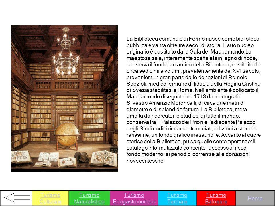 La Biblioteca comunale di Fermo nasce come biblioteca pubblica e vanta oltre tre secoli di storia. Il suo nucleo originario è costituito dalla Sala de