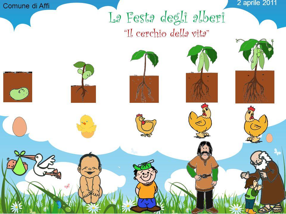 2 aprile 2011 La Festa degli alberi Il cerchio della vita