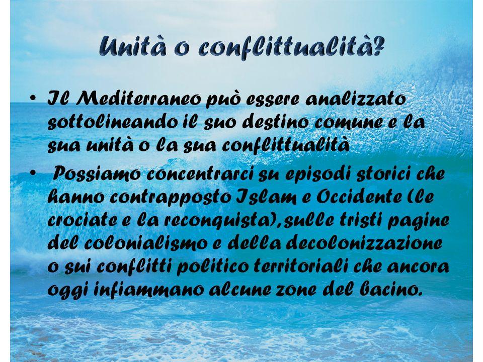 La civiltà mediterranea del passato si è sviluppata grazie agli scambi sul piano culturale, sociale e politico.