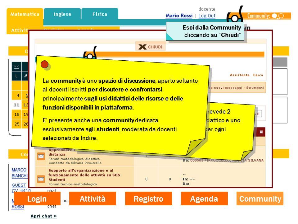 Login Community Agenda Registro Attività La community dei docenti di SOS Studenti prevede 2 Forum generali: uno di tipo metodologico-didattico e uno d