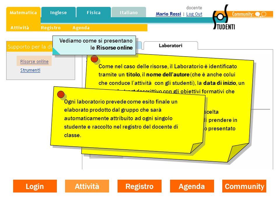 Login Community Agenda Registro Attività La community dei docenti di SOS Studenti prevede 2 Forum generali: uno di tipo metodologico-didattico e uno di tipo tecnico-didattico, oltre ad un Forum per ogni disciplina attivata.
