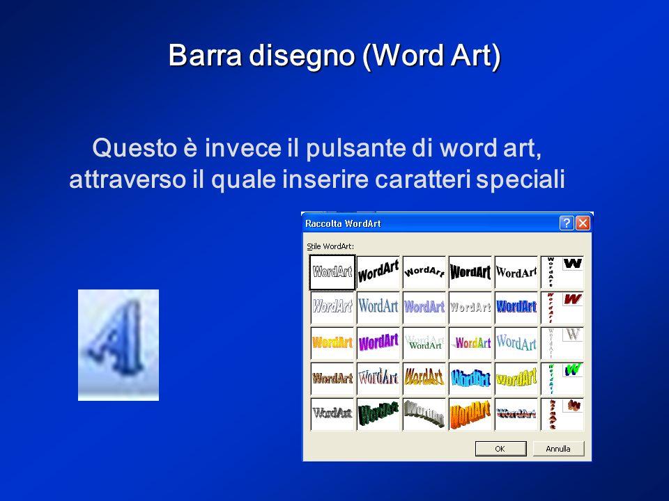 Barra disegno (Casella di testo) Sulla barra disegno vi è anche licona della casella di testo. Dopo averci cliccato posizionati sulla diapositiva nel