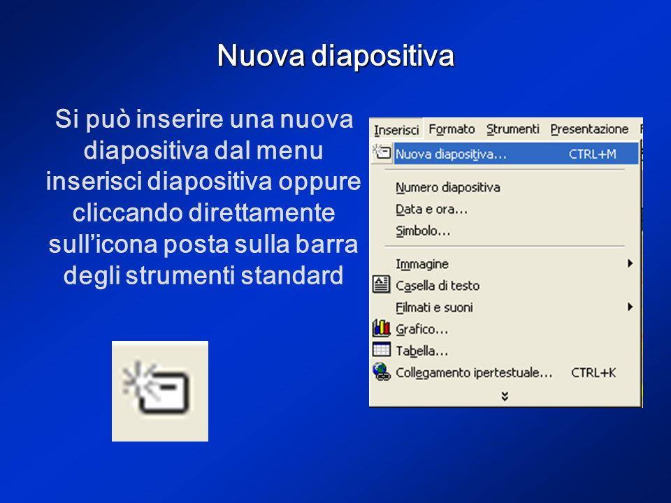 Transizione Dal menu presentazione è possibile anche inserire una transizione, cioè un passaggio animato da una diapositiva ad unaltra.