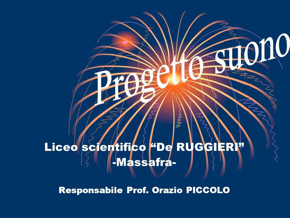 Liceo scientifico De RUGGIERI -Massafra- Responsabile Prof. Orazio PICCOLO