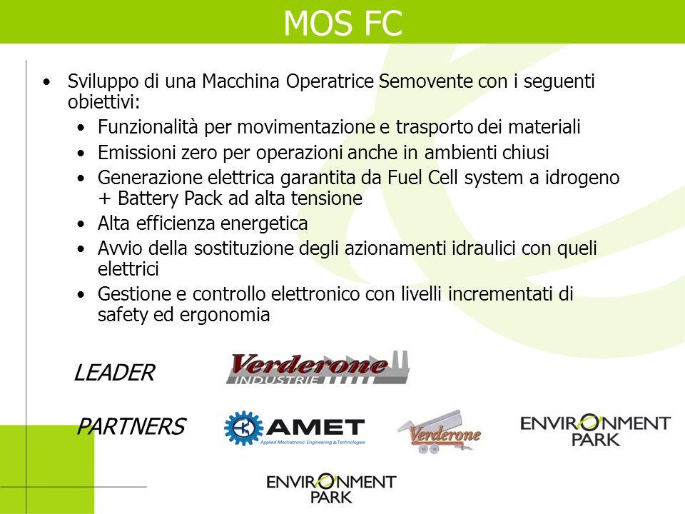 Sviluppo di una Macchina Operatrice Semovente con i seguenti obiettivi: Funzionalità per movimentazione e trasporto dei materiali Emissioni zero per o
