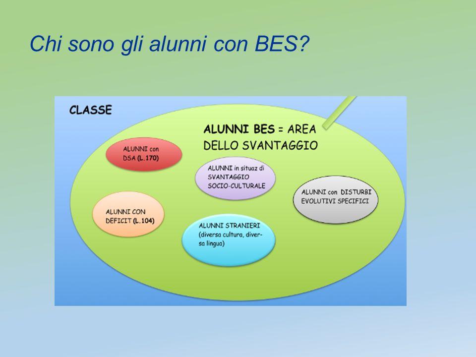 Chi sono gli alunni con BES?