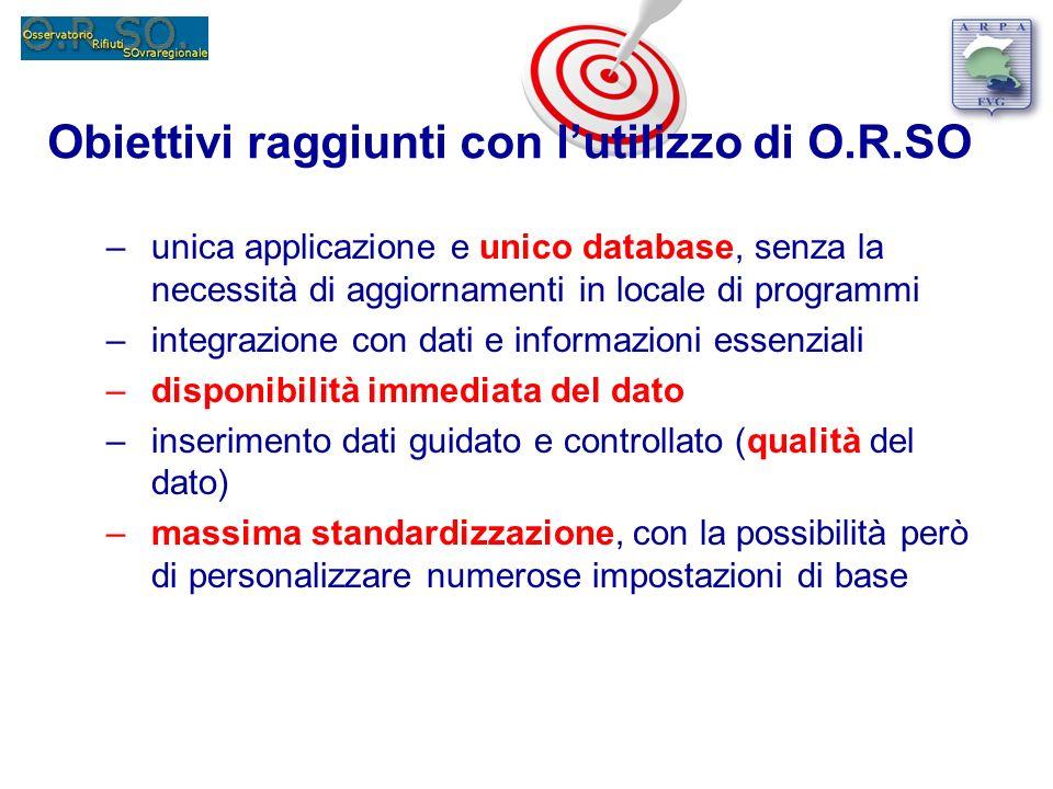 –unica applicazione e unico database, senza la necessità di aggiornamenti in locale di programmi –integrazione con dati e informazioni essenziali –dis