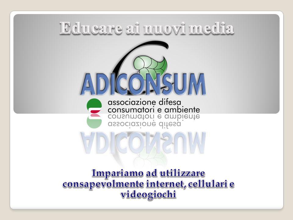 Chi è ADICONSUM E un associazione di consumatori nata nel 1987 con oltre 150.000 associati.