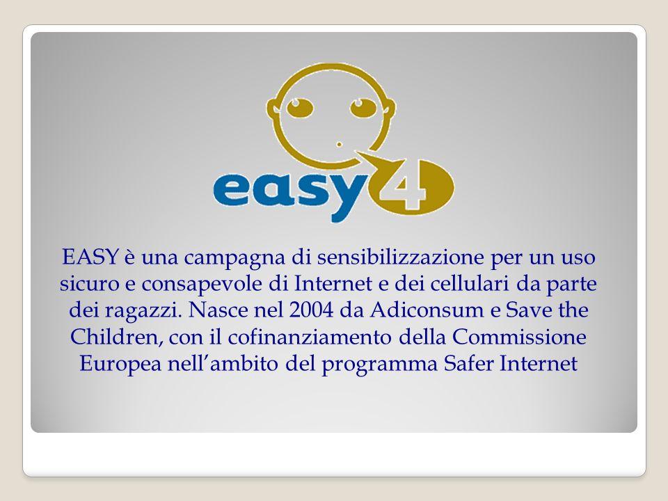 LINK UTILI o www.adiconsum.it o www.easy4.it o www.garanteprivacy.it o www.stop-it.org o www.aesvi.it o www.pegi.info
