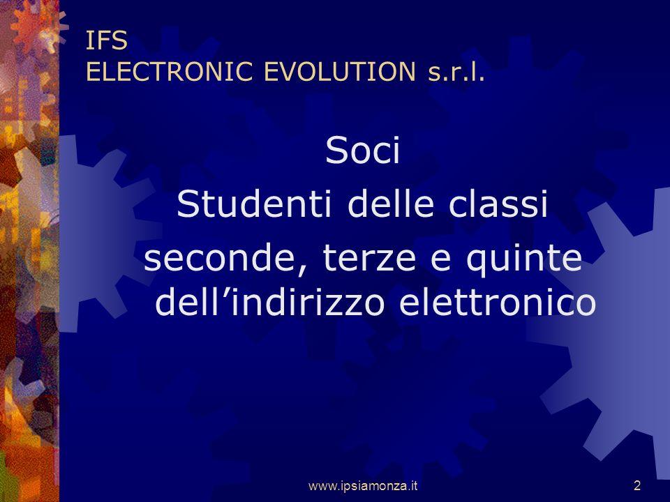 www.ipsiamonza.it2 IFS ELECTRONIC EVOLUTION s.r.l.