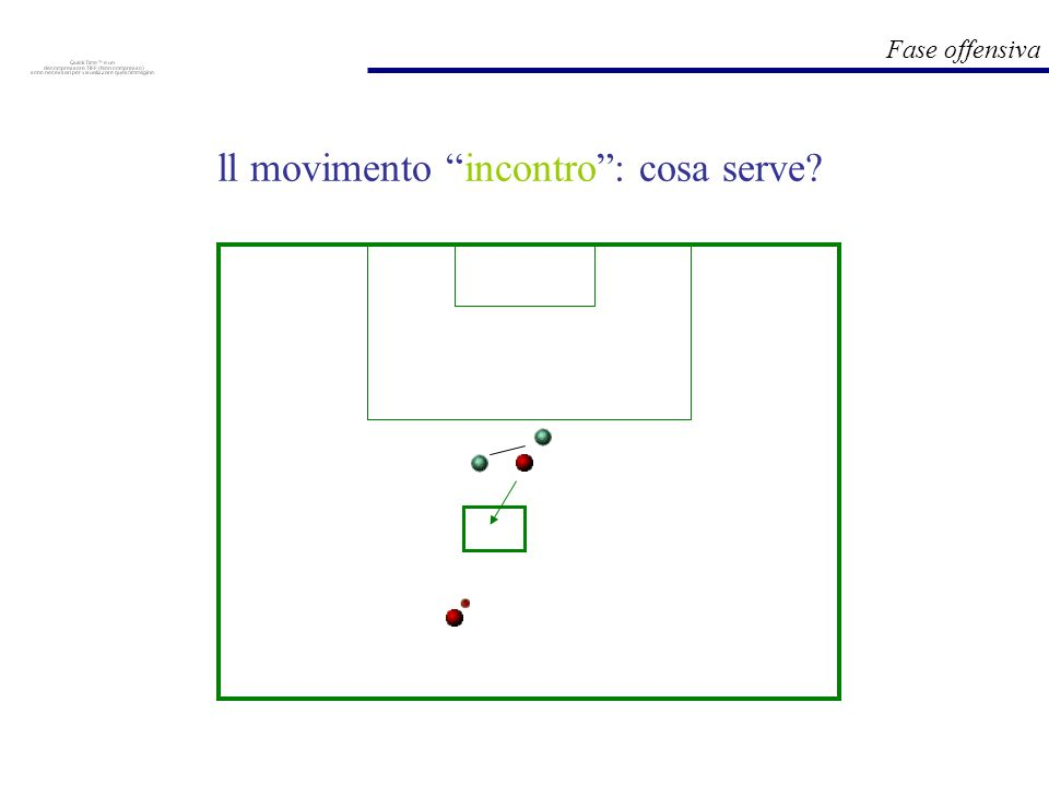 Fase offensiva ll movimento incontro: cosa serve?