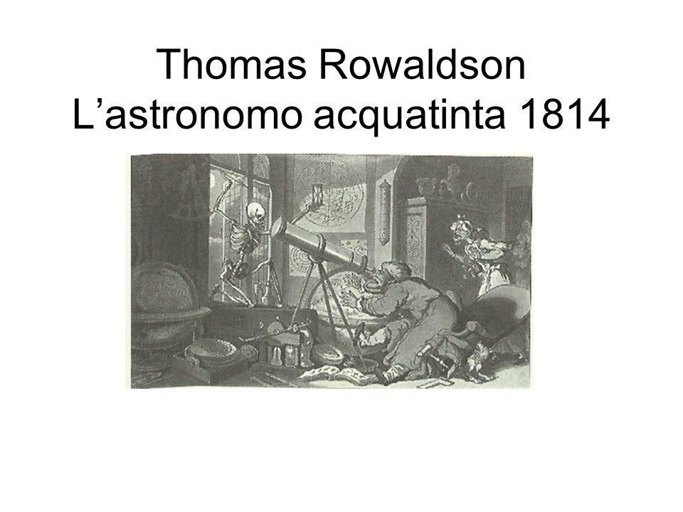 Thomas Rowaldson Lastronomo acquatinta 1814