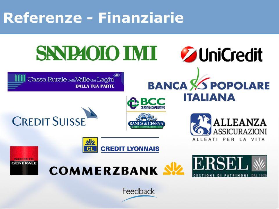 Referenze - Finanziarie