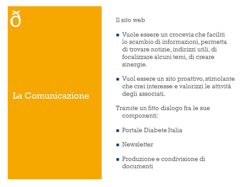 La Comunicazione Il sito web Vuole essere un crocevia che faciliti lo scambio di informazioni, permetta di trovare notizie, indirizzi utili, di focali