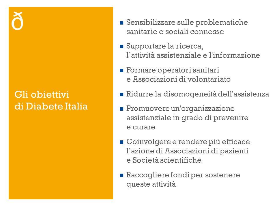 Sensibilizzare sulle problematiche sanitarie e sociali connesse Supportare la ricerca, lattività assistenziale e l'informazione Formare operatori sani