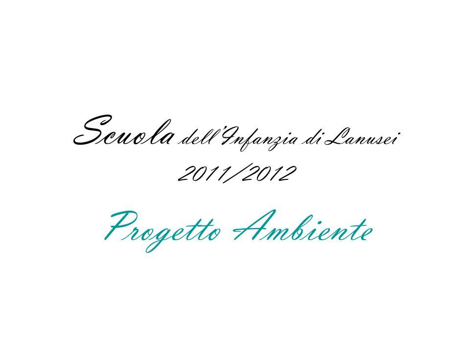 Scuola dellInfanzia di Lanusei 2011/2012 Progetto Ambiente