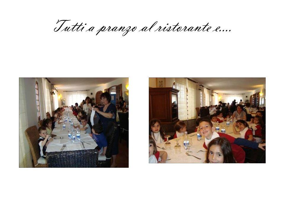 Tutti a pranzo al ristorante e….