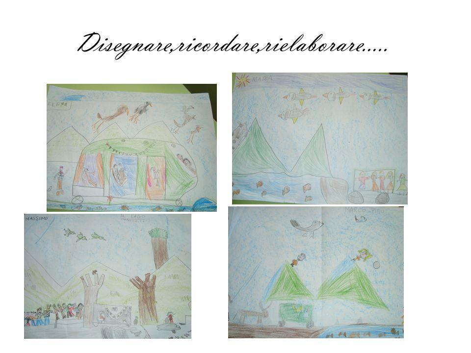 Disegnare,ricordare,rielaborare…..