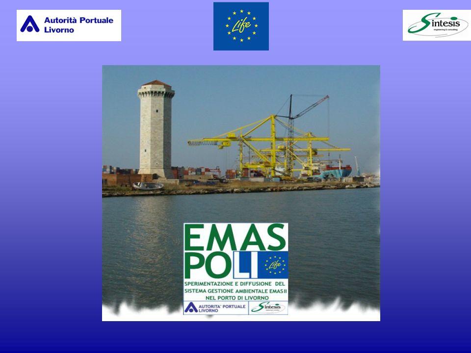 Il 25 Novembre 2003 lAutorità Portuale di Livorno ha ricevuto il certificato attestante lavvenuta realizzazione di un efficiente ed efficace Sistema di Gestione Ambientale conforme alla norma internazionale UNI EN ISO 14001/96; Il 21 Ottobre 2004 ha inoltre conseguito il certificato di registrazione EMAS del proprio S.G.A.; E pertanto la prima Autorità in Europa ad aver conseguito questo brillante risultato.
