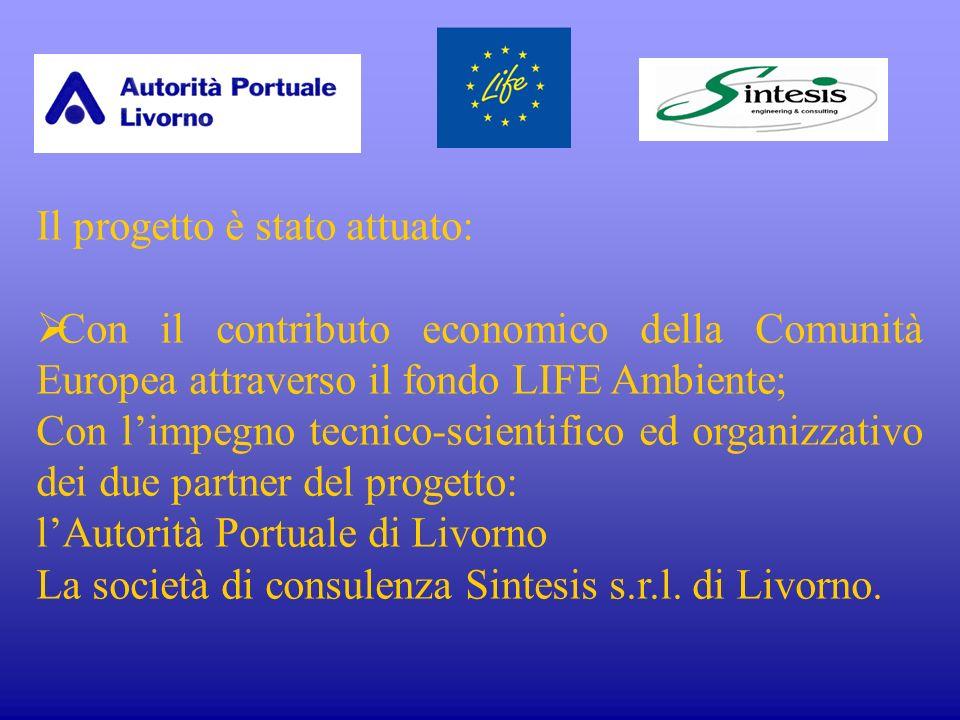 Hanno aderito al progetto tre realtà significative nellambito portuale: Terminal Lorenzini (terminal contenitori e merci varie) Rhodia Italia (industria chimica) Terminal Calata Orlando (terminal rinfuse).