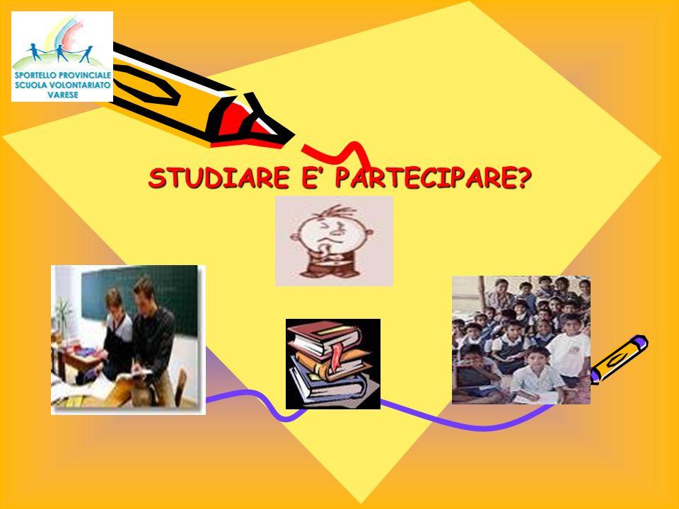 STUDIARE E PARTECIPARE