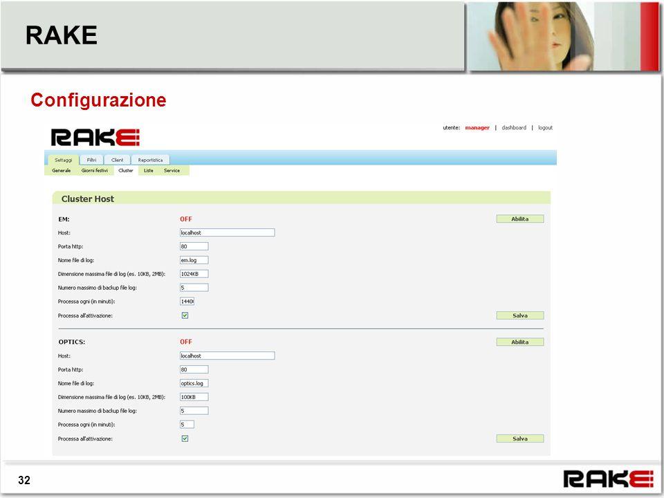 RAKE Configurazione 32