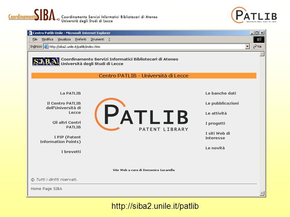 http://siba2.unile.it/patlib